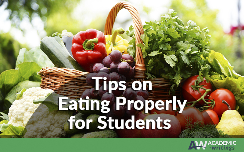 Eating healthy when you are a student